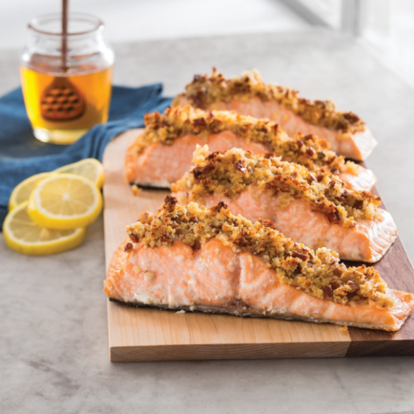 Honey-Pecan Salmon