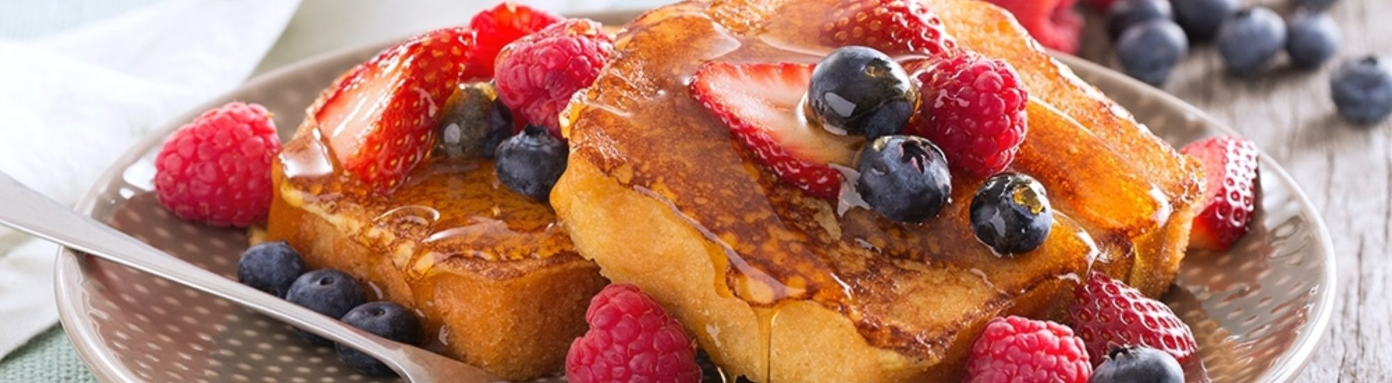 Honey Leches French Toast Banner Image2