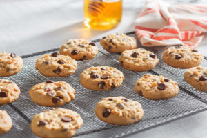 Bee Nutty Choco Chip Cookies 1