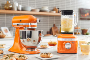 Kitchen Aid Honey Stand Mixer Blender